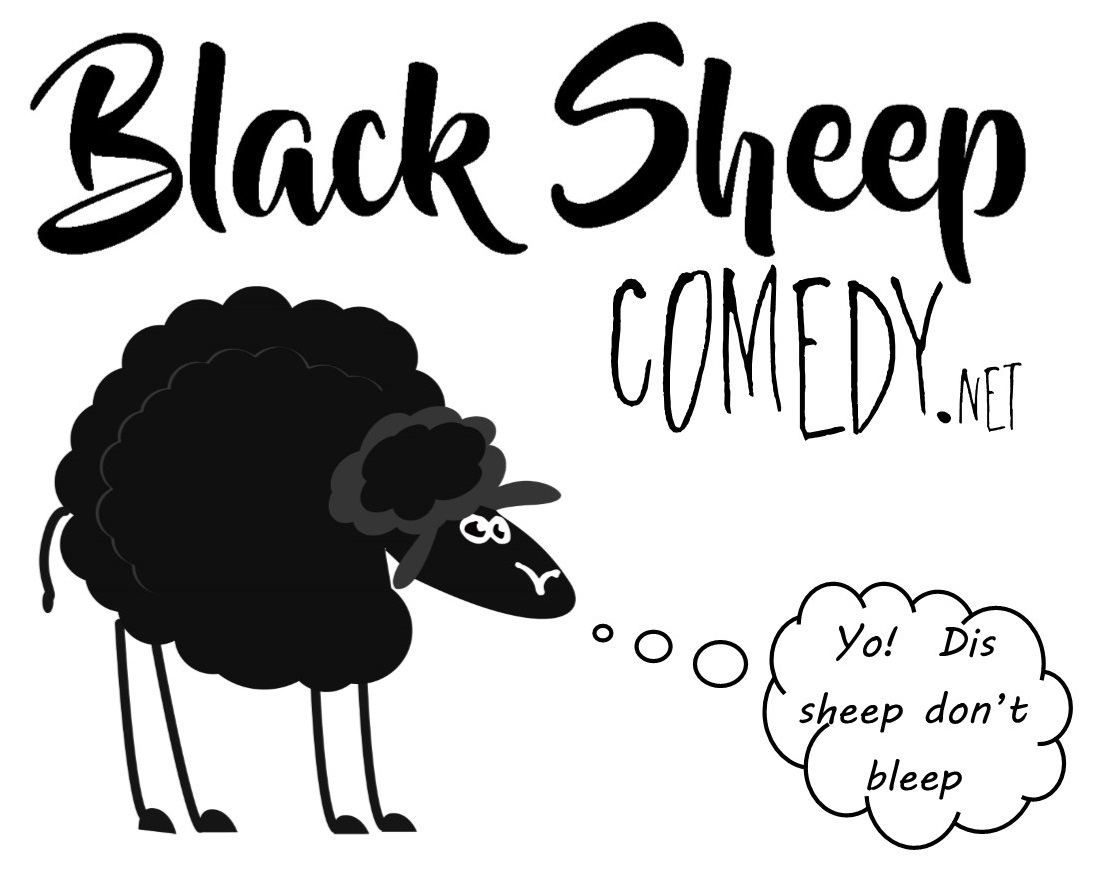 Black Sheep Comedy Alaska Logo
